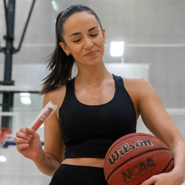 Athelete Using Energice Fruit Punch