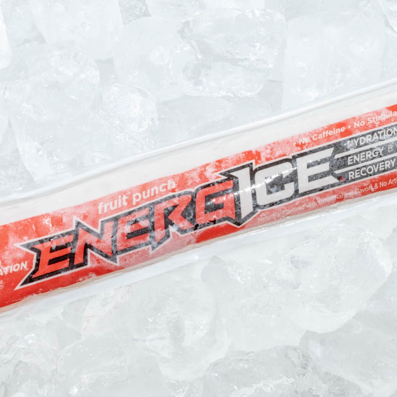 Athelete Using Energice Fruit Punch
